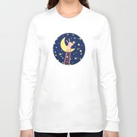 starry night Long Sleeve T-shirts featuring Starry Night by Roberta Jean Pharelli