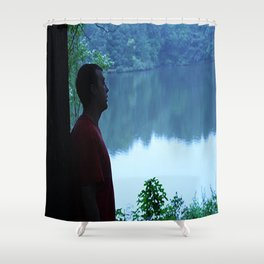 Soul Searching Reflections Shower Curtain