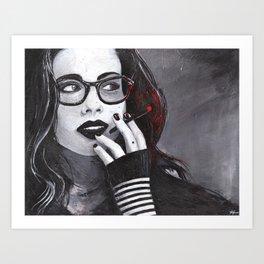 Tristessa Art Print