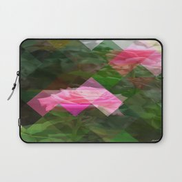 Pink Roses in Anzures 5 Art Triangles 1 Laptop Sleeve
