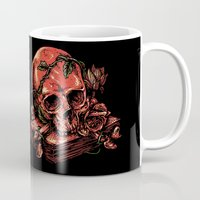 art history Mugs featuring Dark history by barmalisiRTB