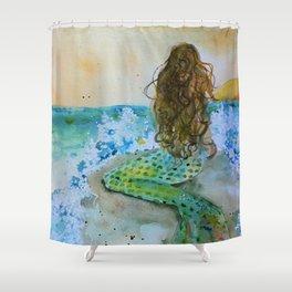 Final Joy Mermaid Shower Curtain