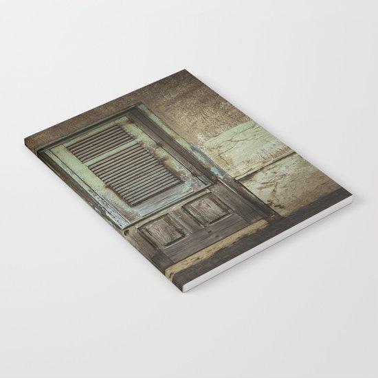 Italian Door III Notebook