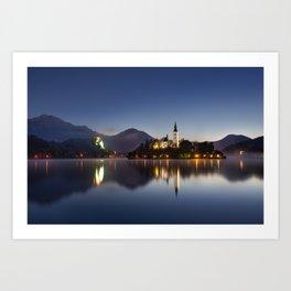The Still Lake Art Print