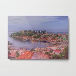 Home - Grenada Metal Print