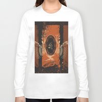 music notes Long Sleeve T-shirts featuring Music by nicky2342