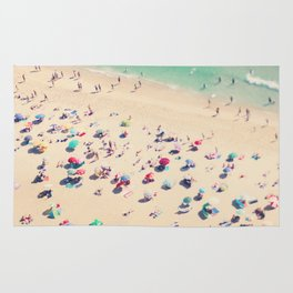beach summer in love Rug