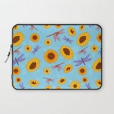 Sunflowers & Dragonflies Laptop Sleeve