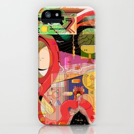 The Memory of Tommy Teacher iPhone Case