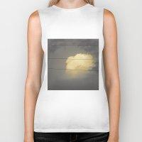 cloud Biker Tanks featuring Cloud by Evgeniy Nesterov