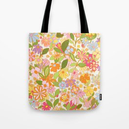 Nostalgia in the garden Tote Bag