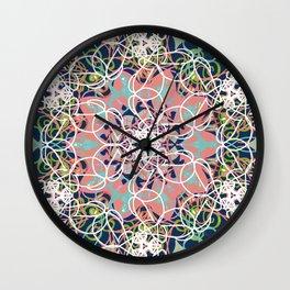 Color Web Wall Clock