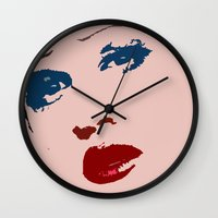 hedwig Wall Clocks featuring Darren is Hedwig! by byebyesally