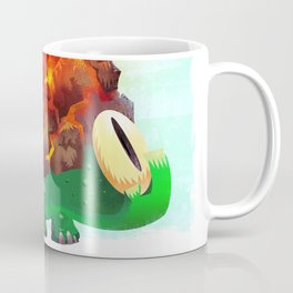 Fire Turtle Coffee Mug