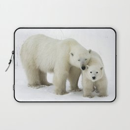 Mother and Cub Laptop Sleeve