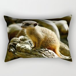 Meerkat Baby Rectangular Pillow