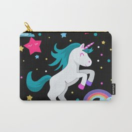 Unicorn in the night Carry-All Pouch