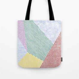 Chalk Patterns Tote Bag