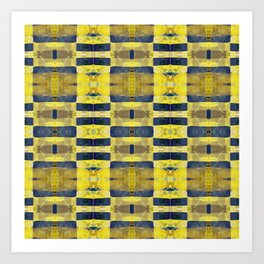 first sunrays_pattern_no2 Art Print