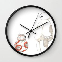 BB8 Meets Baymax Wall Clock