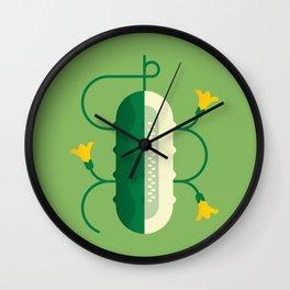 Vegetable: Cucumber Wall Clock