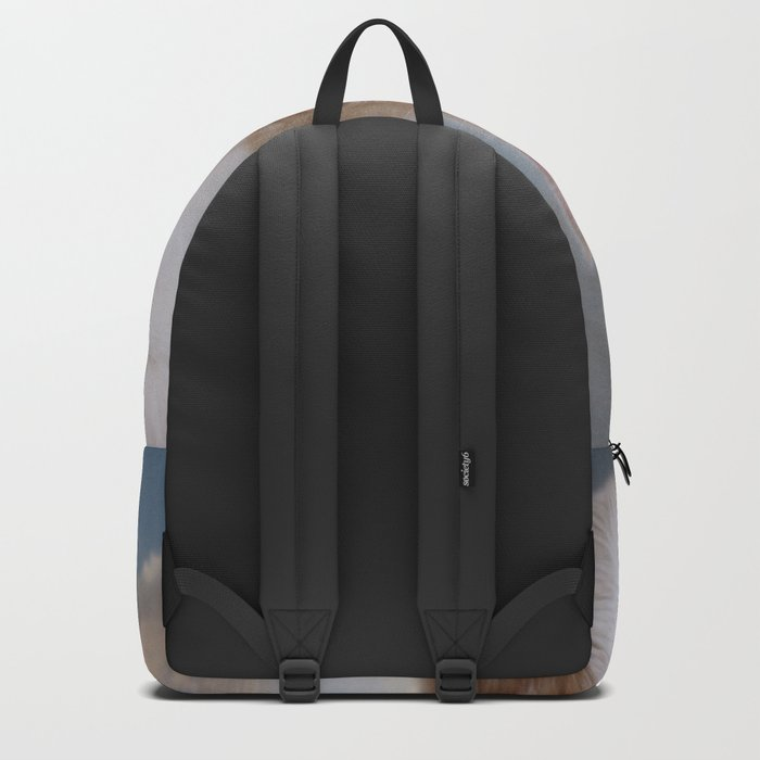 Dramatic Cat Face Backpack