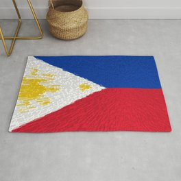 Extruded flag of the Philippines Rug