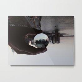 Convex Manhattan Metal Print