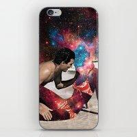 eugenia loli iPhone & iPod Skins featuring Kundalini by Eugenia Loli
