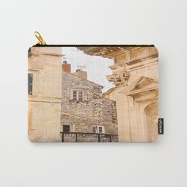Terrace in Old Town Europe #decor #society6 Carry-All Pouch