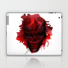 Red Skull Laptop & iPad Skin