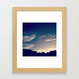 Sky Study - 61 Framed Art Print