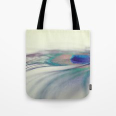 Peacock Drop Tote Bag