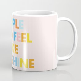 Sunshine People Coffee Mug