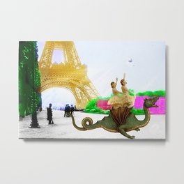 Dragon Tamers Metal Print