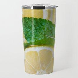Lemon Mint Cooler Travel Mug