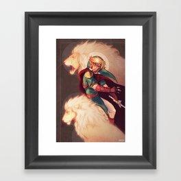 Prince of Lions Framed Art Print