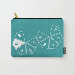 Teal Unrolled D10 Carry-All Pouch