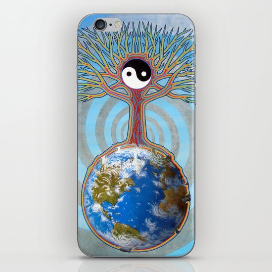 Balanced Earth iPhone & iPod Skin