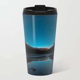 Winter Sunset Travel Mug