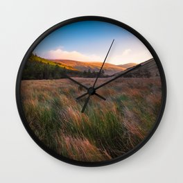 Orange Mountains - Ireland ( RR 258) Wall Clock