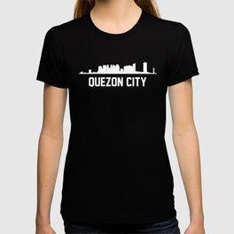 Quezon City Philippines Skyline Cityscape T-shirt