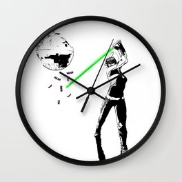 The real dark side - Ashoka's Birthday Wall Clock