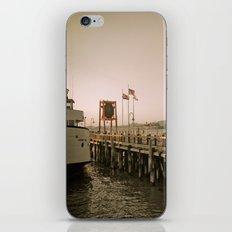 View of Alcatraz - The Rock iPhone & iPod Skin