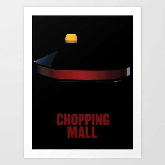 Chopping Mall Art Print