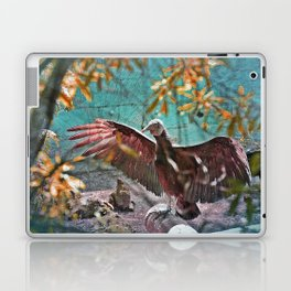 Vulture Rise of the Fire Wizard Laptop & iPad Skin