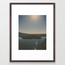Potter Marsh 2 Framed Art Print