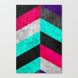 Geometric Mundo C Canvas Print