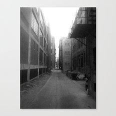 Alley #1 Canvas Print