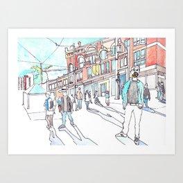 Cabbagetown Toronto Art Print